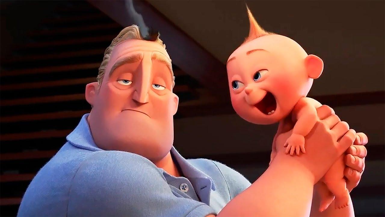 эволюция фильмов Pixar видео