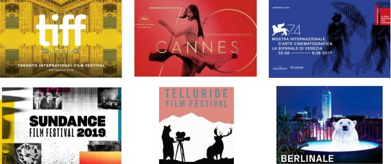 Постеры кинофестивалей