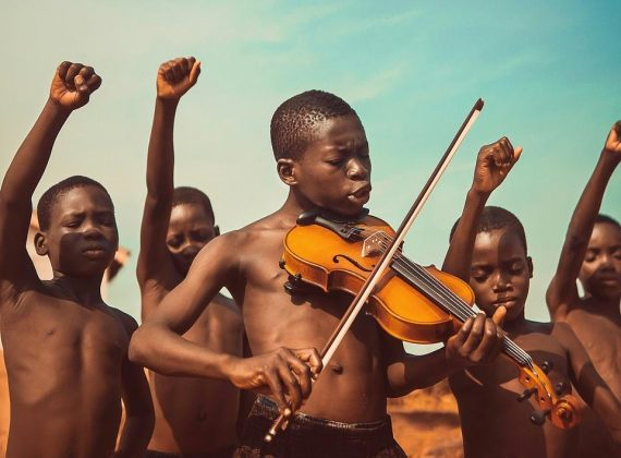 'Songs Of Freedom', Best Photo of the Year winner. Photo: Michael Aboya @eighthman (Ghana) - Agora Awards