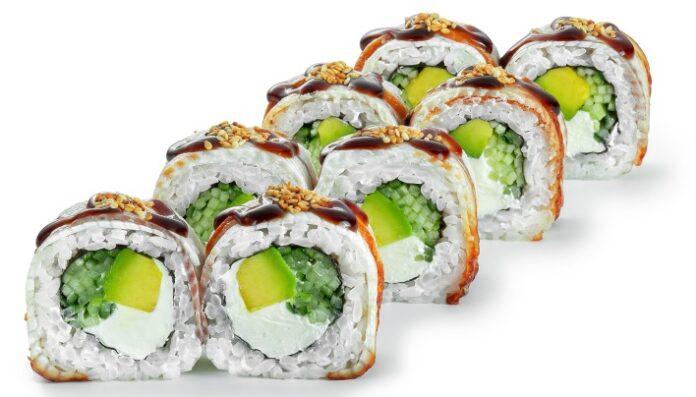 акции на суши и роллы