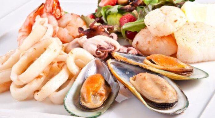 вкусные морепродукты